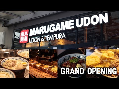 Marugame Udon Grand Opening | Sunday VLOG with Chris Urbano