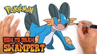 How to Draw Swampert | Pokemon