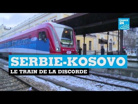 """""""Le Kosovo est Serbe"""" - Le train de la discorde entre la Serbie et le Kosovo"""