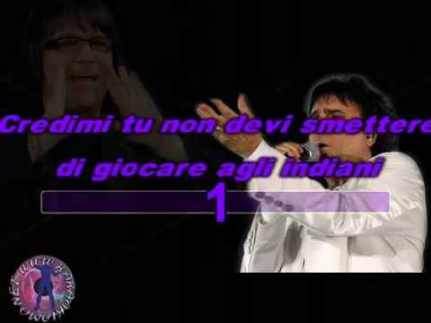 Renato Zero - La tua idea (karaoke - fair use)