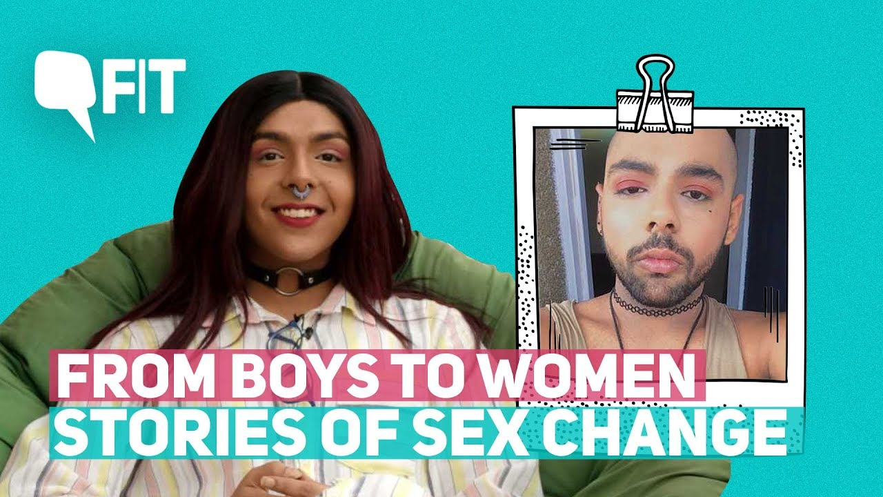 Sex change boy women something
