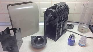 Nespresso u D50/C50/Krups XN250A10 broken spout. Ремонт кофеварки.(Судя по всему, хрупкие крепления носика у кофеварок серии D50/C50/Krups XN250A1 нередкая проблема. Разбирается она..., 2016-09-29T14:44:43.000Z)