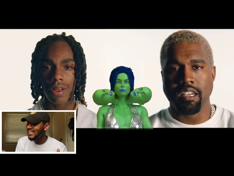 YNW Melly ft Kanye West - Mixed Personalities Dir by ColeBennett 🔥 REACTION
