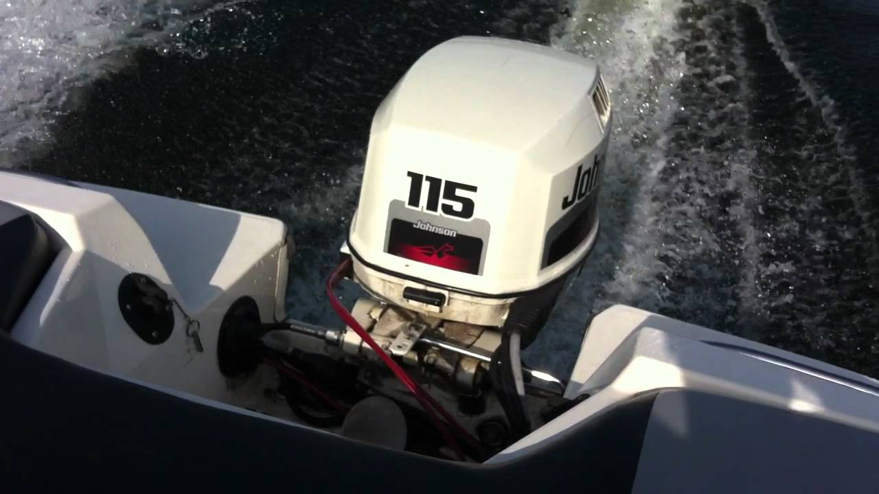 1998 Johnson 115 Hp Outboard Sold Youtube