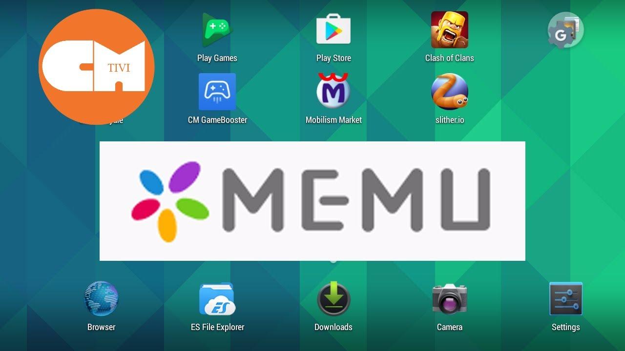 Phần mềm giả lập android trên PC nhẹ – MEMUPLAY