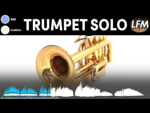 Sad Trumpet Solo Background Instrumental | Royalty Free Music - YouTube