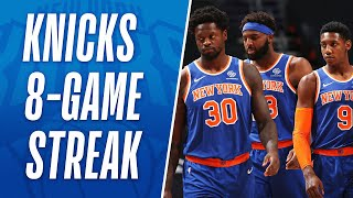 Best of Knicks 8-Game WIN Streak! 🔥🔥