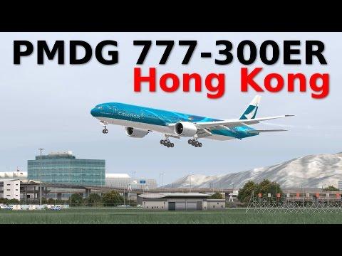 [FSX] PMDG 777-300ER HONG KONG