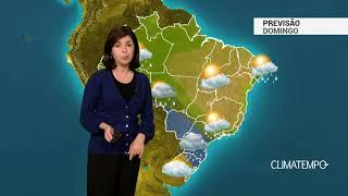 Previsão Brasil – Grande frente fria chega ao Sudeste