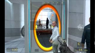 Killing yourself in Portal (impulse 101 and cheats used)