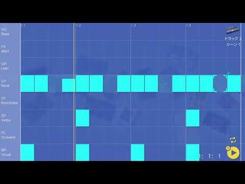 画像2: 07 ハットのタイミングを変えてみる バレッドプレス KORG Gadget for Nintendo Switch講座 www.youtube.com