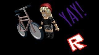 ¡Tengo una bicicleta! (Roblox) (BloxBurg)
