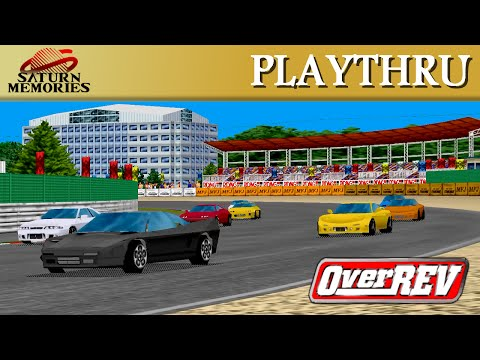 Over REV [Model 2] [Arcade] by Jaleco (5'30'96) [HD] [1080p]