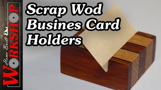 How To Make Wooden Business Card Holders