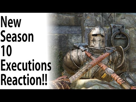 For Honor - 23 NEW Season 10 Executions Reaction!! THIS IS AMAZING!!!