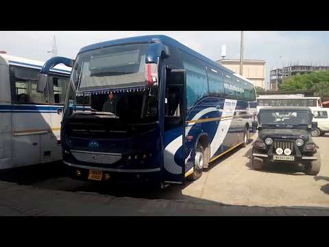 Uttarakhand Roadways Volvo's Resting at ISBT Dehradun | @ Travel With Aman @ |