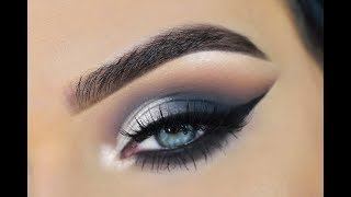 ABH Sultry Eyeshadow Palette | Intense Cool Toned Eye Makeup Tutorial