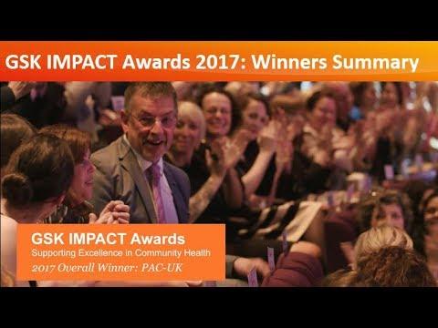 GSK IMPACT Awards 2017: Winners Summary