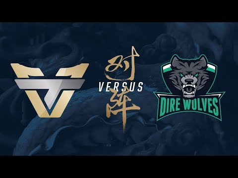 DW vs. ONE | Play-In Day 2 | 2017 World Championship | Dire Wolves vs. Team oNe Esports