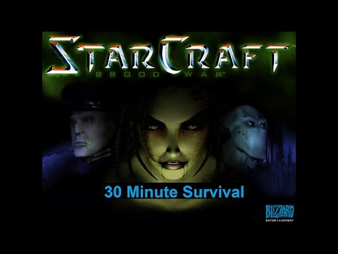 Starcraft 30 minute survival Mission