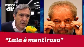 Lula é mentiroso ao dizer que leu 21 livros na prisão | Marco Antonio Villa