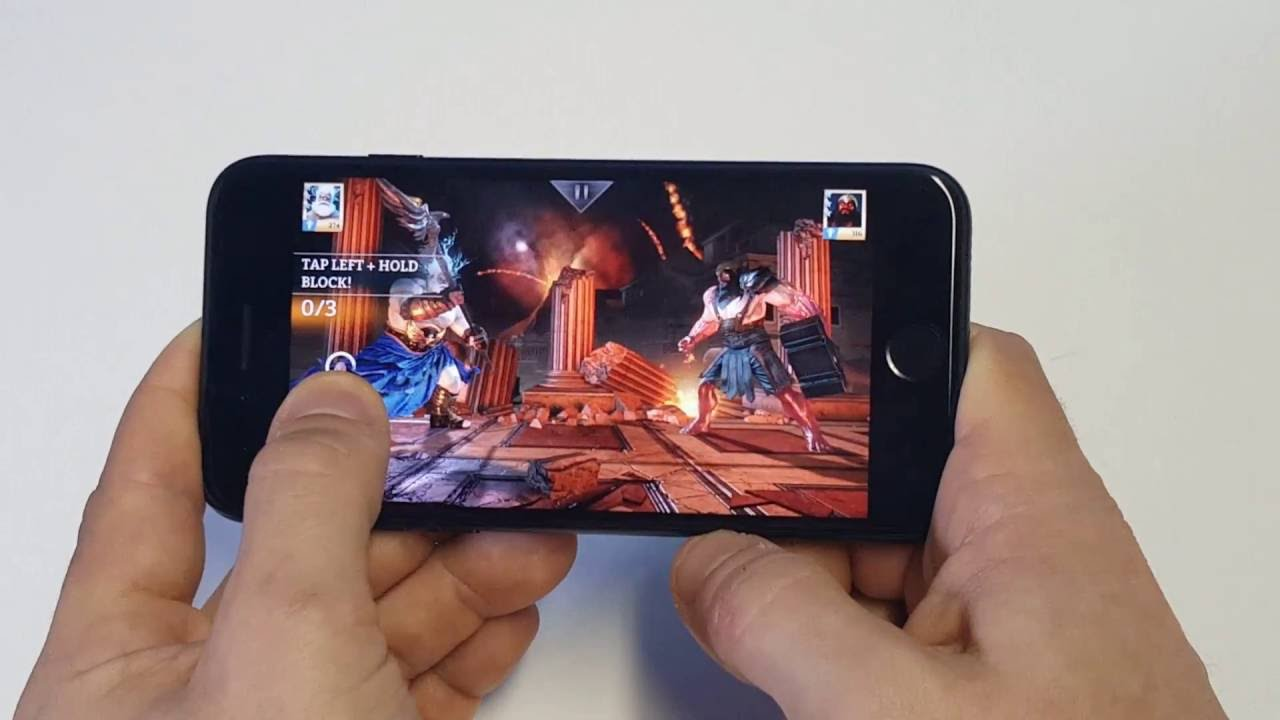 Best Fighting Games For Iphone 7 7 Plus Top 3 Fliptroniks Com Youtube