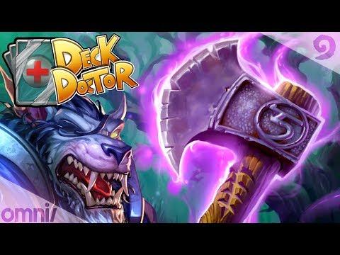 Witchwood Deck Doctor w/ Firebat: Rush Warrior!