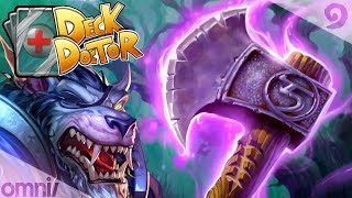 Witchwood Deck Doctor w/ Firebat: Rush Warrior!