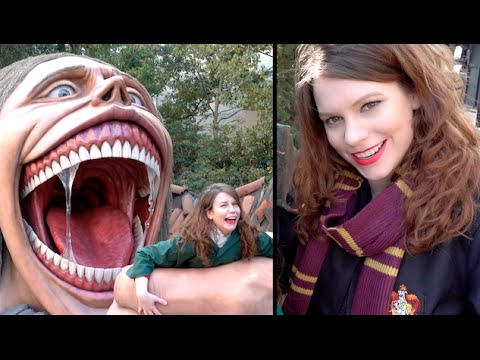 Getting Eaten at Universal Studios Japan!