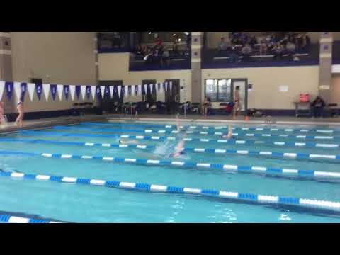Glynnis H - 100 Back - Illinois College Dual Meet