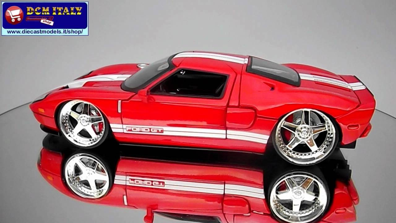 Ford Gt  Jada Toys