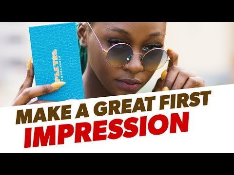 How To Make A Great First Impression - 4 Things Women Notice First About You!