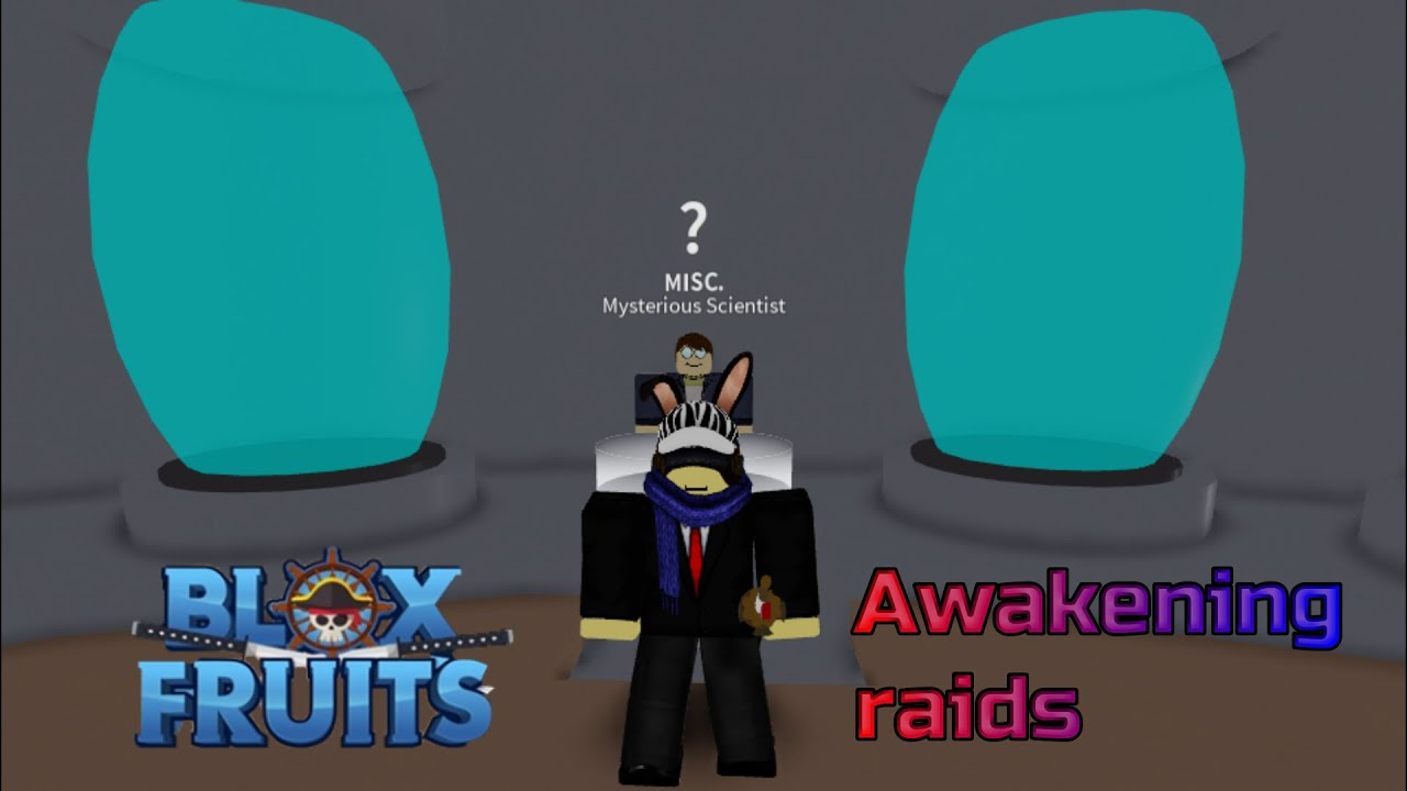 Awakening Raids gone wrong..[Blox Fruits]
