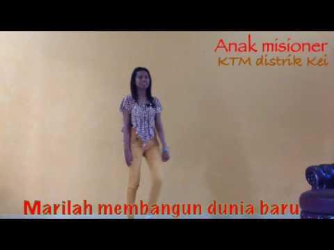 Lagu Bina Iman Anak Katolik - anak misioner