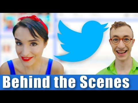 Twitter The Musical - BEHIND THE SCENES