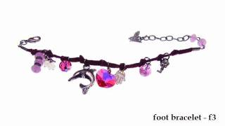 foot bracelet collection by HAMAC