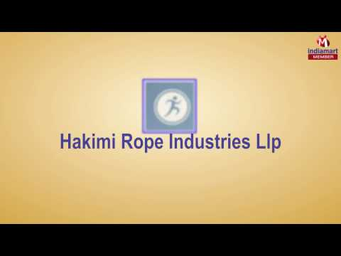 HDPE and PP Ropes by Hakimi Rope Industries Llp, Neemuch