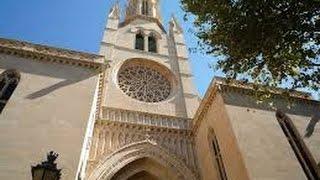 Santa Eulalia Church Palma de Mallorca 4K