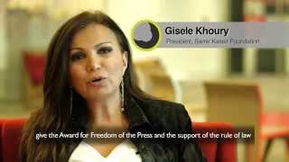 BBC Arabic Festival Judge - Gisele Khoury مهرجان بي بي سي عربي
