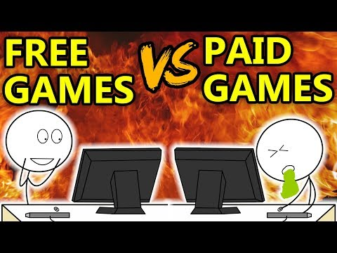 Download Youtube: Free Games VS Paid Games