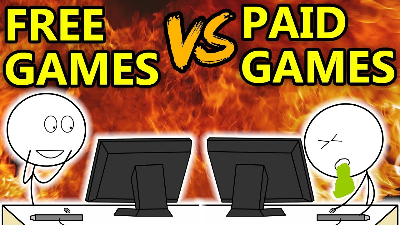 Free Games For Free : Free games vs paid youtube