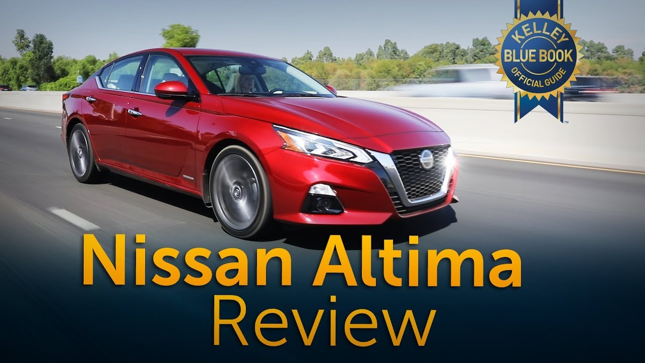2019 Nissan Altima Review Road Test Youtube