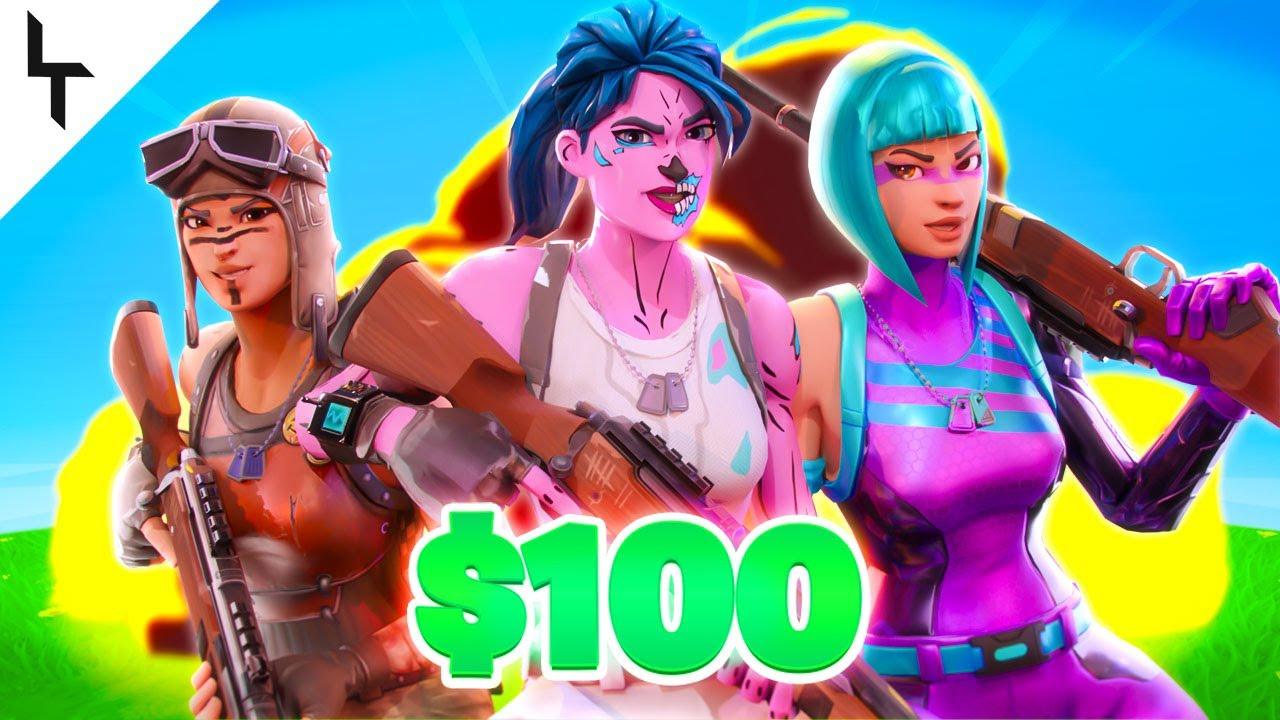 Team Limit $100 Trickshot Competition (Creative Map)