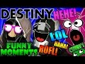 Destiny Funny Moments Ep.45 FUNNIEST GUARDIANS! DESTINY PUNS!