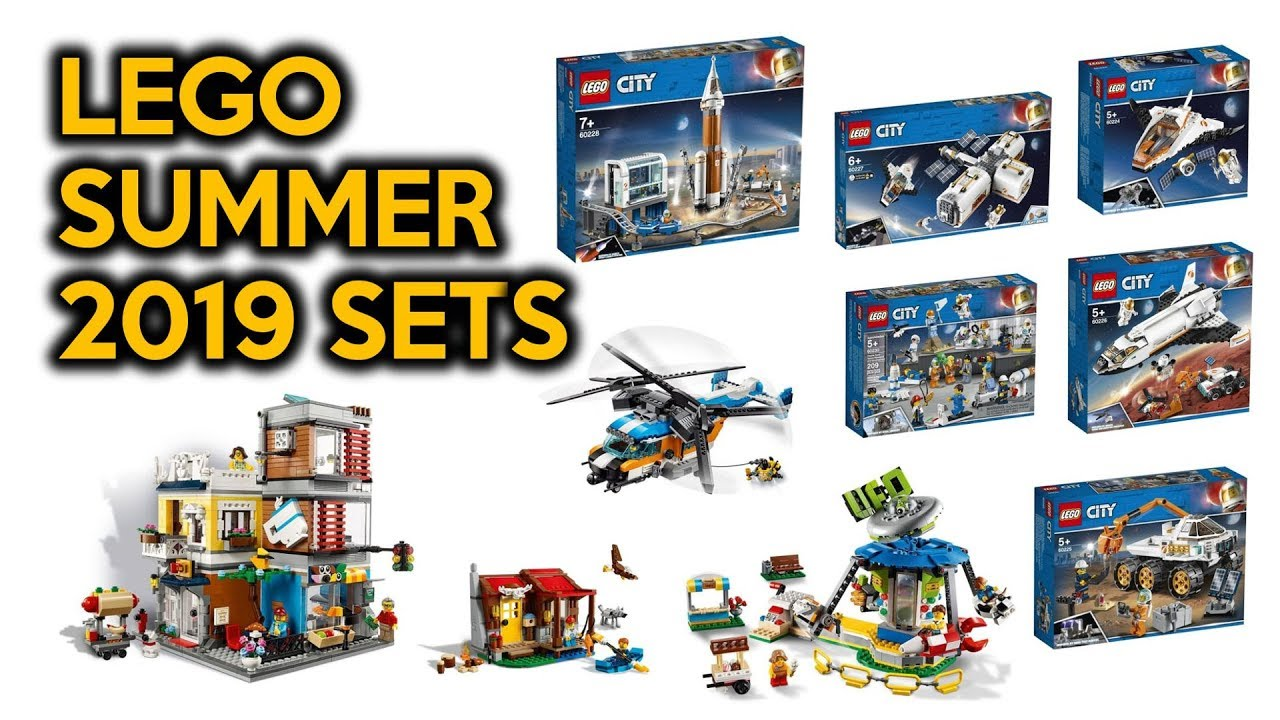 New 2019 Lego City Space Sets Lego Creator Sets Impressions And