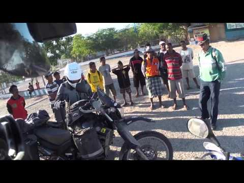 Riding Yamaha XT660R in East Timor and Indonesia Taster video  HD
