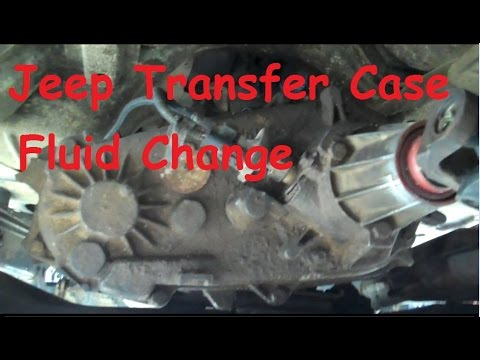 Jeep Wrangler YJ  Fluid change in a NP231 transfer case  YouTube