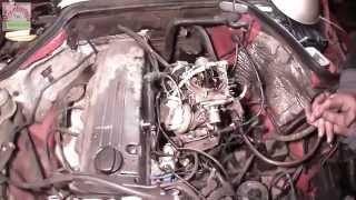 установка солекса на Mercedes-Benz