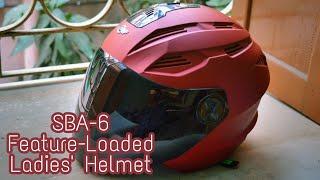 Steelbird SBA-6 ELA - Ladies Helmet|| Fully Customisable!! Value for Money?? Hindi Review