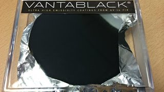 Vantablack - The Material So Dark You Can't See It
